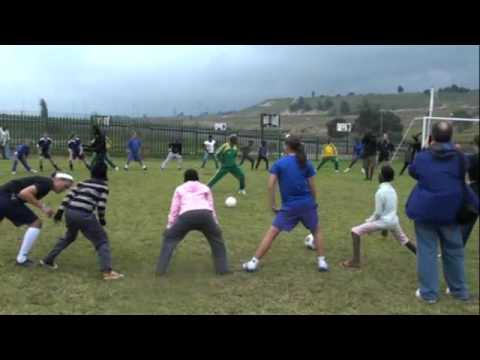 Fusion 97 Soccer Clinic in South Africa