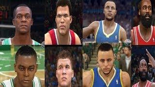 NBA LIVE 15  vs NBA 2K15! Comparison Screenshots To NBA 2K14 & NBA LIVE 14