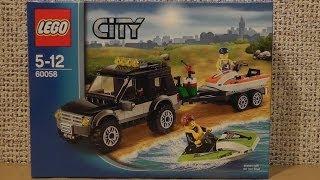 LEGO City 60058 Terenówka ze ślizgaczem