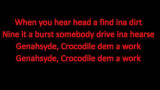 Crocodile Dem a Work - Masicka (Kalado Diss) LYRICS  November 2015