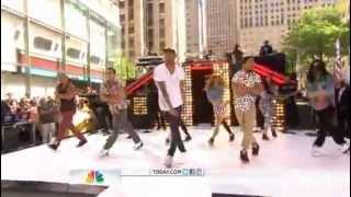 Chris Brown - Yeah 3x Today Show 2012