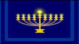 Ocho Candelikas - A Hanukkah Song (Eight Little Candles)