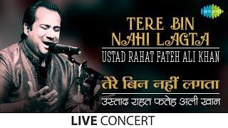 Tere Bin Nahi Lagta | Ustad Rahat Fateh Ali Khan | Live Performance width=