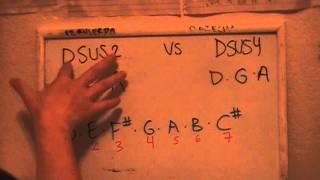 DSUS2 vs DSUS4   TUTORIAL DE PIANO