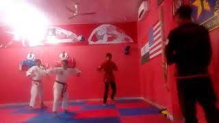 Color belt test chi kwang do India