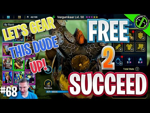 Let's Gear Up Vergumkaar!! | Free 2 Succeed - EPISODE 68