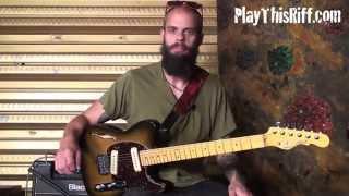 "BARONESS Guitar Lesson ""Take My Bones Away"" PlayThisRiff.com"
