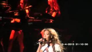HD Beyonce-Flaws and all LIVE Serbia Mrs Carter World TOur