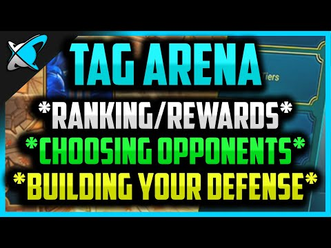 TAG TEAM ARENA GUIDE | Ranking, Rewards, Opponents, Defense | RAID : Shadow Legends