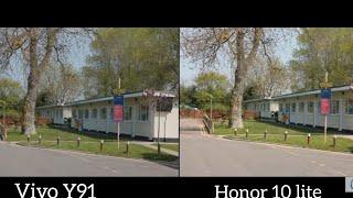 Vivo Y91 vs Honor V10 Lite camera Comparison