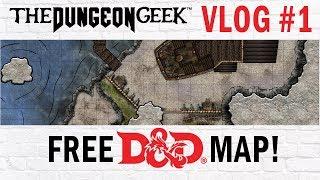 Free D&D Battle Map - Pirate Sea Cave Base - Hajaka Base Map