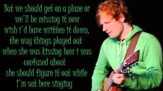 Ed Sheeran Don't Lyrics (Dirty)