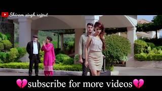 💖💔Heart touching whatsapp status 2018💖O sathi re tere bina bhi kya jeena💖sad whatsapp status💖💔