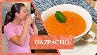 RECEITA DE GAZPACHO ESPANHOL (SOPA FRIA DE TOMATE) | LUIZA ZAIDAN