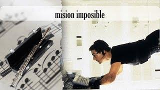 Partitura misión imposible Flauta Traversa