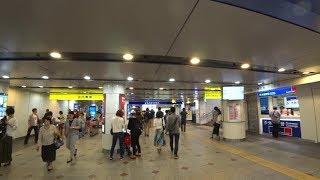 """【Yokohama Station】 From """"Keikyu Line Central Gate"""" To """"Sotetsu Line 2F Gate"""""""