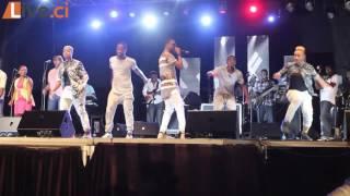 Ivorian Network BBQ/ Chorégraphie de l'artiste Serges Beynaud en concert