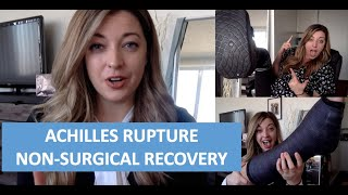 Achilles Rupture Recovery without Surgery