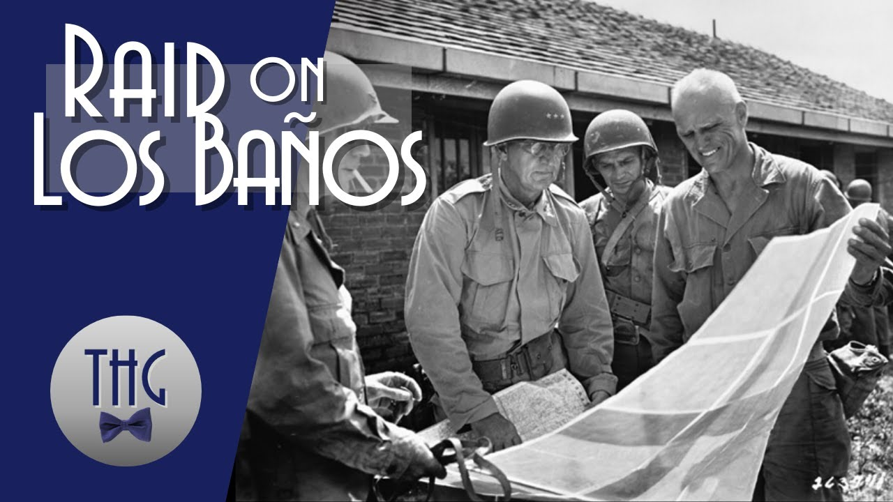 US Paratroopers - Raid on Los Baños -  Rescue Prisoners of War - ww2
