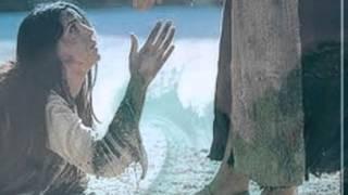 Andando com Jesus sobre as águas.