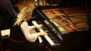 Recording Session Rachmaninoff Concerto 4 LSO Michael Francis Valentina Lisitsa