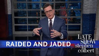 Trump Condemns The 'Disgraceful' Raid Of Michael Cohen
