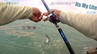 釣魚趣  龍井 火力發電 出水口 乾潮漲 南極蝦餌