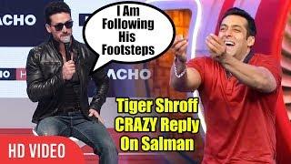 Tiger Shroff Crazy Reply On Salman Khan | Macho New Brand Ambassador
