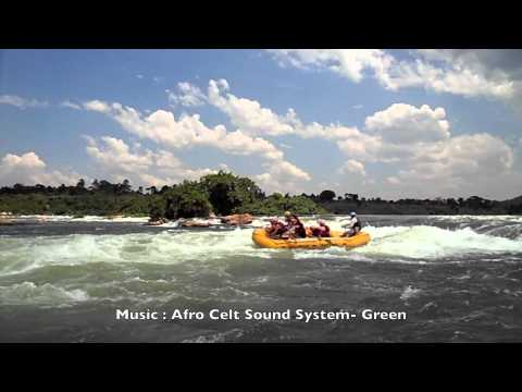 Nile River White Water Rafting Uganda Full HD Movie by Heliasz