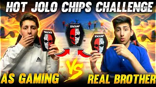 Jolo Chip Challenge 🥵With My Brother In Free Fire *Gone Wrong* - Garena Free Fire