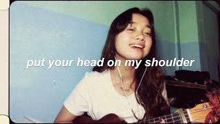 Put Your Head On My Shoulder - Paul Anka (ukulele cover)