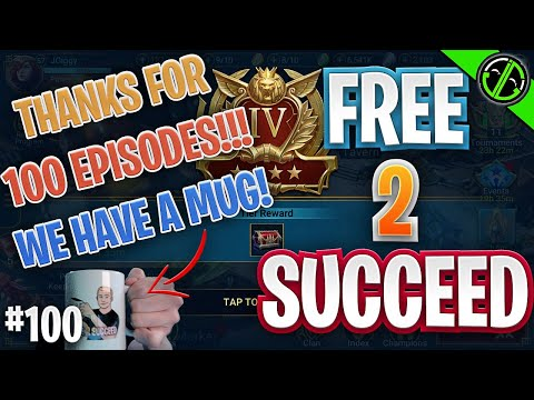 100th Episode!!! TONS Of Progress, Fusion Complete, Close to Rhazin! | Free 2 Succeed - EPISODE 100
