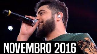 Top 10 - Músicas Sertanejas Mais Tocadas - NOVEMBRO 2016   HD