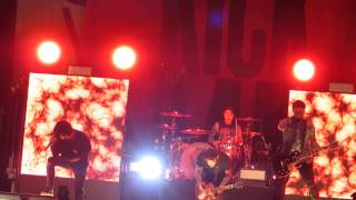 Sleeping With Sirens - performing Kick Me live on February 14 2015