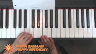 Happy Birthday piano cover by Kiera Samaan