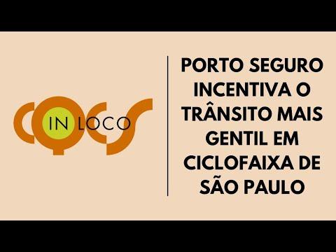 Imagem post: Porto Seguro incentivo o trânsito mais gentil em ciclofaixa de São Paulo