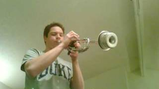 Jazz Trumpet Solo- F Blues
