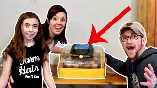 We're Hatching RARE BREED EGGS for OUR HOMESTEAD