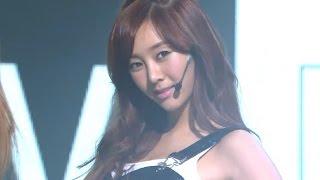 【TVPP】G.NA - Black & White, 지나 - 블랙 앤 화이트 @ Show! Music Core Live