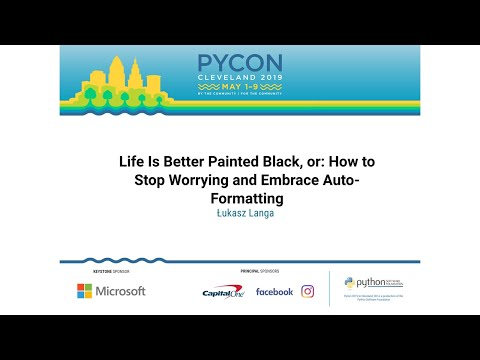 Life Is Better Painted Black, or: How to Stop Worrying and Embrace Auto-Formatting