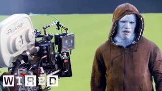 The Amazing Spider-Man 2: Transforming Jamie Foxx into the Villainous Electro-Design FX-WIRED