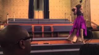 LaBoris Cole Ministering Amazing by Hezekiah Walker