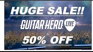 Guitar Hero Live News  Huge Amazon Sale