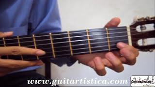 Tutorial guitarra clasica Malagueña Española Segunda parte curso leccion clase 98 Curso Guitarra HQ