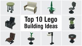 How to make lego furniture videos / InfiniTube