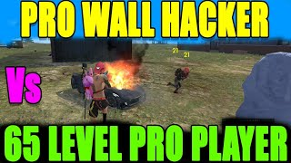 Pro Wall Hackers vs Pro player|| Free fire Pro Hackers || Run Gaming Tamil