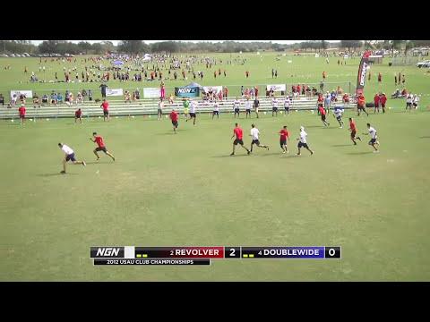 Video Thumbnail: 2012 National Championships, Men's Pool Play: San Francisco Revolver vs. Austin Doublewide (First Half)