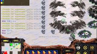 스타크래프트 유즈맵 곱등이 번식하기 ㅋㅋ 징글징글 ㅋㅋ (StarCraft Use Map Setting Worm Multiply)