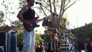 """Taylor Hawkins from the Foo Fighters plays in Laguna Beach """"De Do Do Do, De Da Da Da"""""""