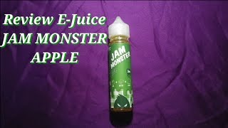 Review Liquid : JAM MONSTER APPLE